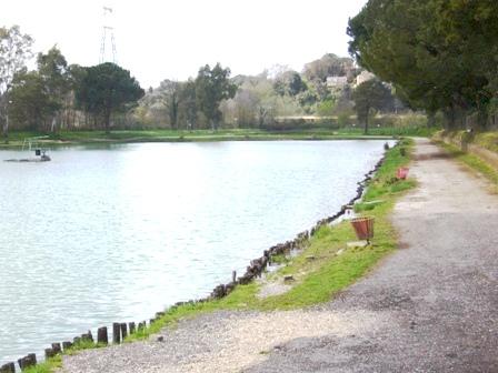pesca sportiva lago azzurro